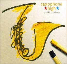 saxophone high.