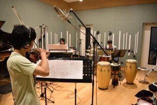 Rio&Syugaのレコーディングを行いました!
