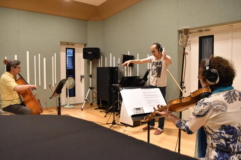 人形劇団クラルテ様のレコーディングを行いました!