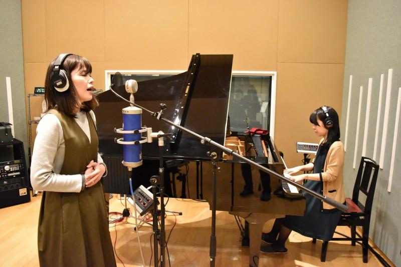 シンガーソングライターのshihoさんのレコーディングを行いました!