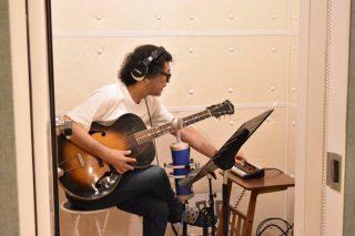 「有山じゅんじ」さんのレコーディングを行いました!