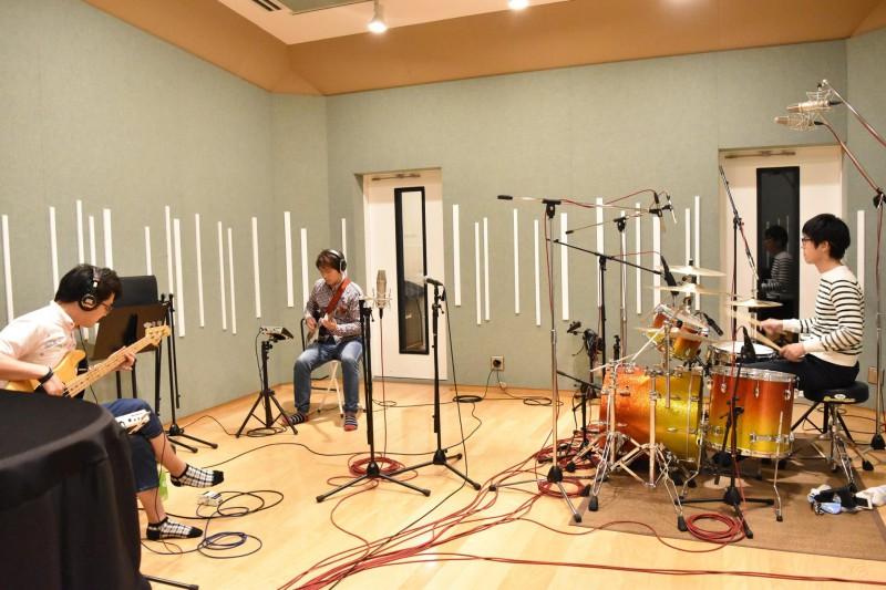 ワタナベフラワーのレコーディングを行いました!