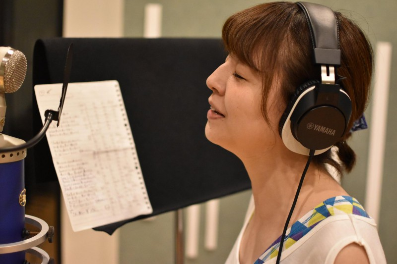 若林美樹さんのレコーディングを行いました!