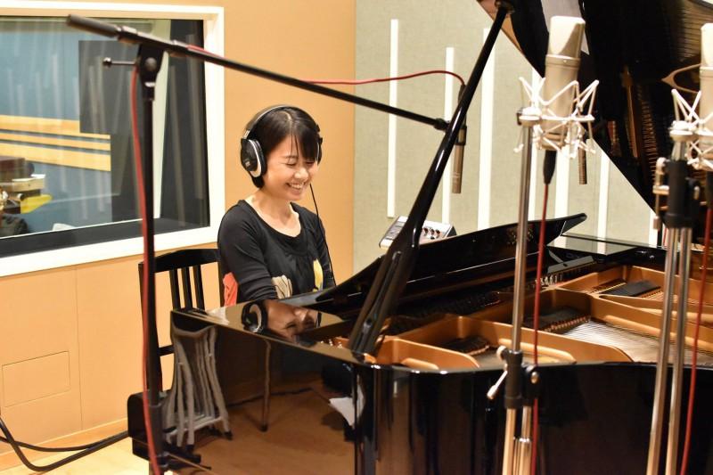 ピアニストの尾原やよいさんのレコーディングを行いました!