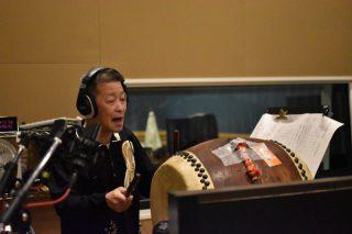 舞台やライブで活躍する数少ないプロの河内音頭取り「山中一平」さんのレコーディングを行いました!