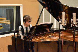 三味線とピアノのユニット「シャミピア」の録音を行いました!