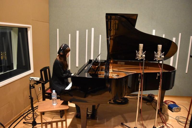 平野里沙さんのレコーディングを行いました!