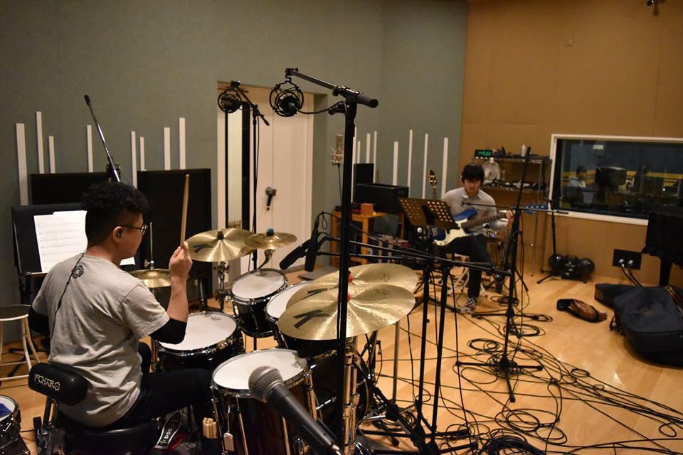 藤森様のプロジェクトでミュージカル音楽のレコーディングを行いました!