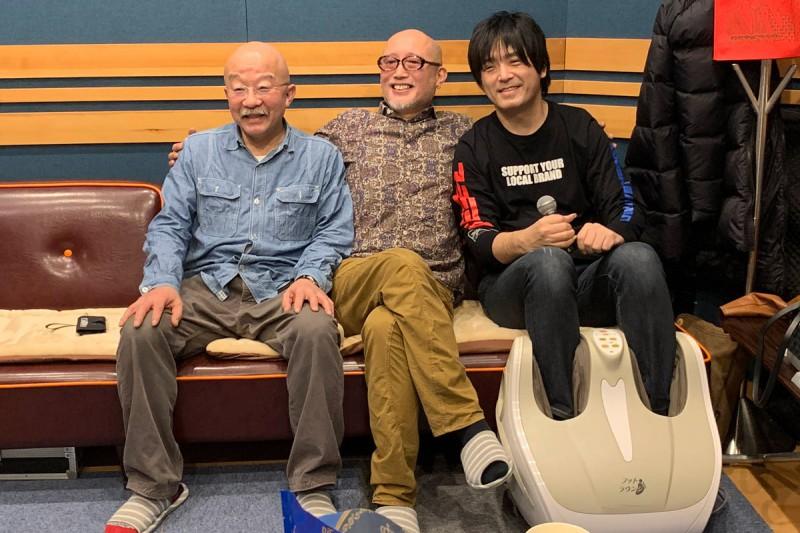 押尾コータローさん、清水興さん、中村岳さんの名手トリオです。